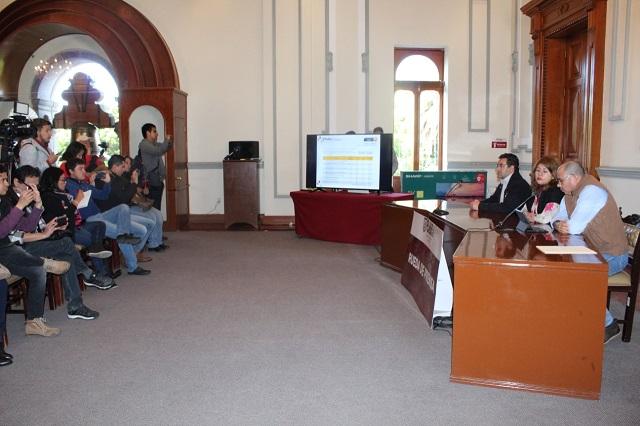 Gobierno capitalino presenta avances en alumbrado público