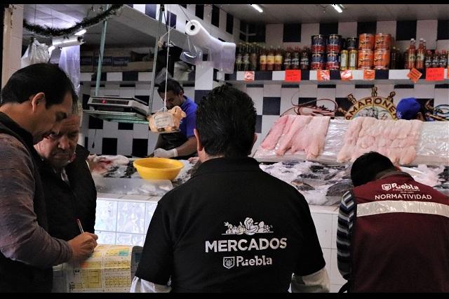 Levantan padrón para ordenamiento en el Mercado Morelos