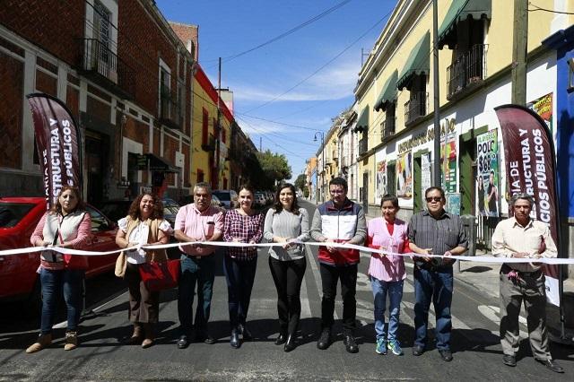 Entregan rehabilitadas tres avenidas principales en la capital