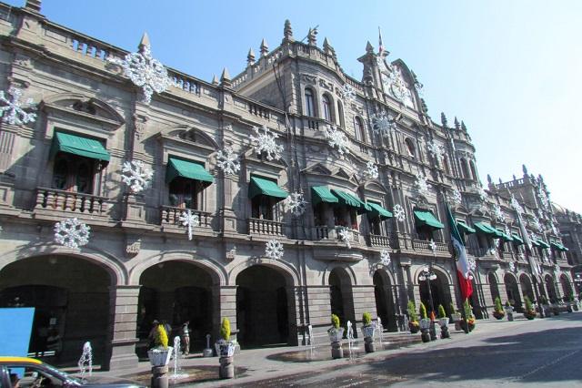 Aumenta 4.5 % salario de burócratas  del Ayuntamiento de Puebla