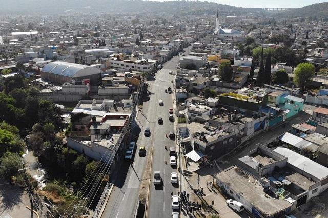 Gobierno capitalino entrega vialidades rehabilitadas