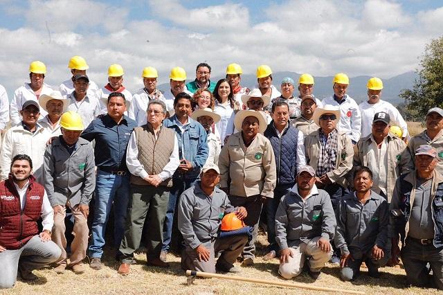 Canoa salvaguardará La Malinche en temporada de incendios: Rivera