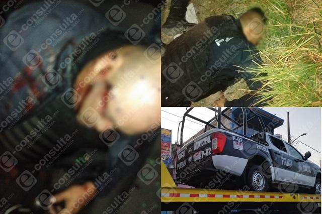 Acribillan a 3 policías de Xoxtla en límites con Coronango
