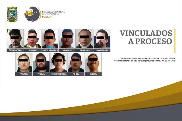 Detienen a 11 hombres por violencia familiar, en Puebla