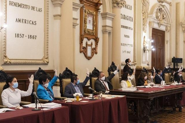 Mayoría de regidores avala cuenta pública 2019 de Puebla capital