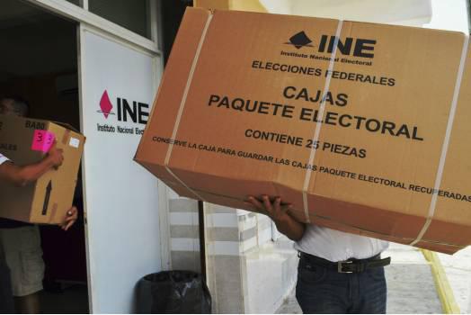 Resguardado, 83.52% de los paquetes electorales : INE