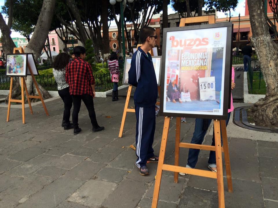 Celebra Revista Buzos 15 años con exposición y festival en el zócalo