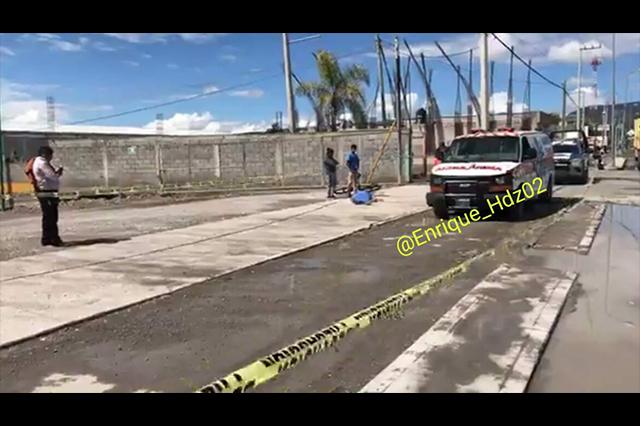 Dejan morir a un hombre en banqueta del Cessa en Tehuacán