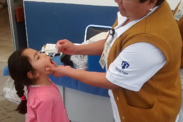 Participa ISSSTEP en primera semana nacional de vacunación 2017