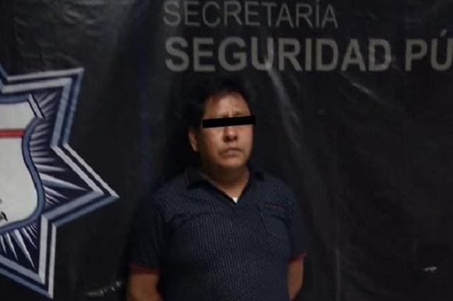 Cae con droga y lo ligan a asesinato de policía en Puebla