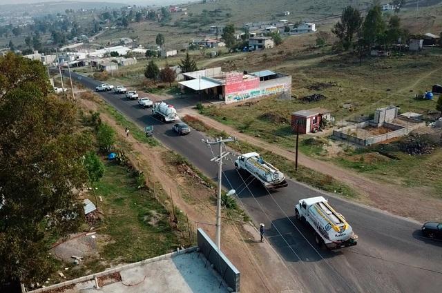 Distribuyen 1 millón de litros de agua en la ciudad de Puebla