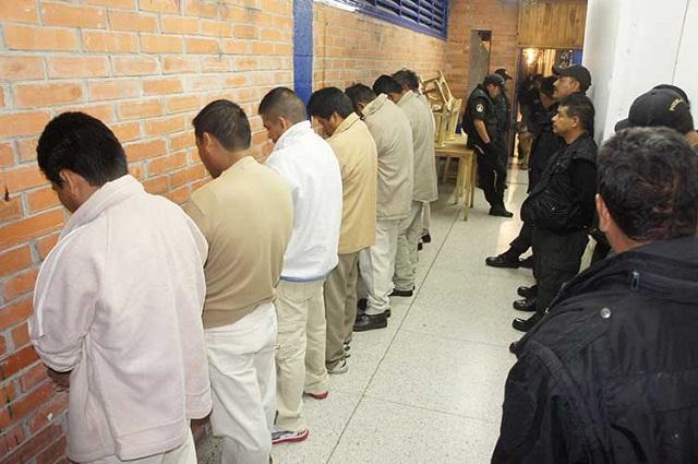 Detenidos esperan de 1 a 2 años en Puebla para recibir sentencia