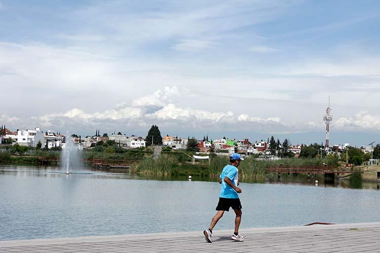 Parque del Centenario Laguna de Chapulco