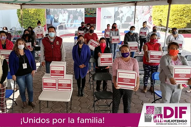 Impulsa DIF Huejotzingo Programa Alimentario para Mujeres Embarazadas