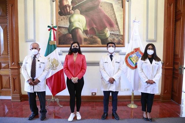 Fortalece gobierno de Puebla capital atención médica a ciudadanos