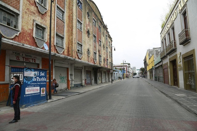 Recuperan imagen urbana en El Parral, en Puebla capital