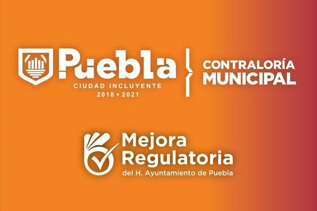 Reconoce observatorio mejoraregulatoria en municipio de Puebla