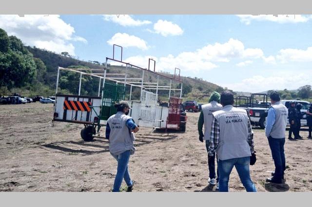 Segom de Puebla impidió 6 aglomeraciones de gente