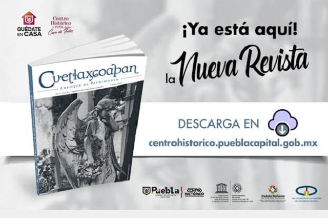 Cuentan la historia del Panteón Municipal de Puebla, en revista digital