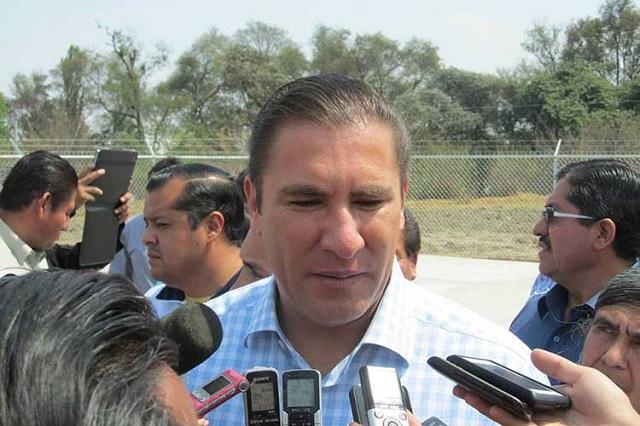 Rechaza RMV que a Tehuacán le hagan falta recursos públicos