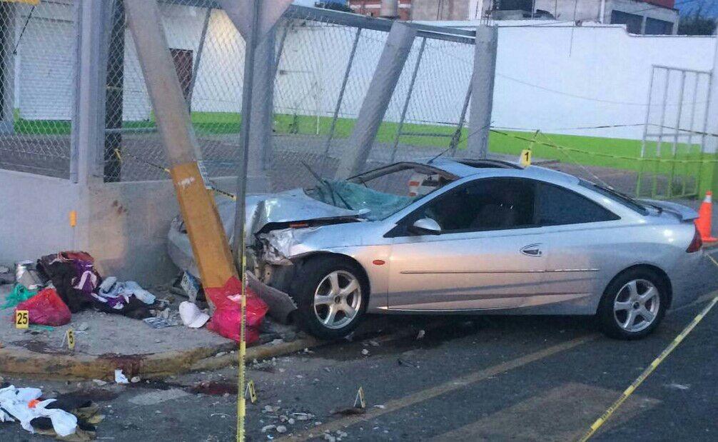 Conductor ebrio mata a menor y deja 6 heridos en San Pedro Cholula