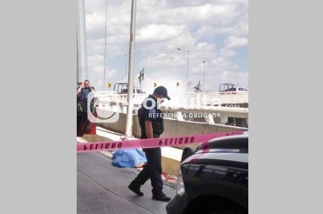 Ejecutan a presunto vendedor de autopartes del centro de Puebla