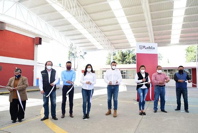 Entregan domos para escuelas de San Ramón y San José Mayorazgo