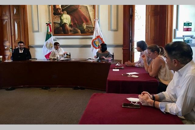 Gobierno capitalino explica a cámaras obras del Centro Histórico