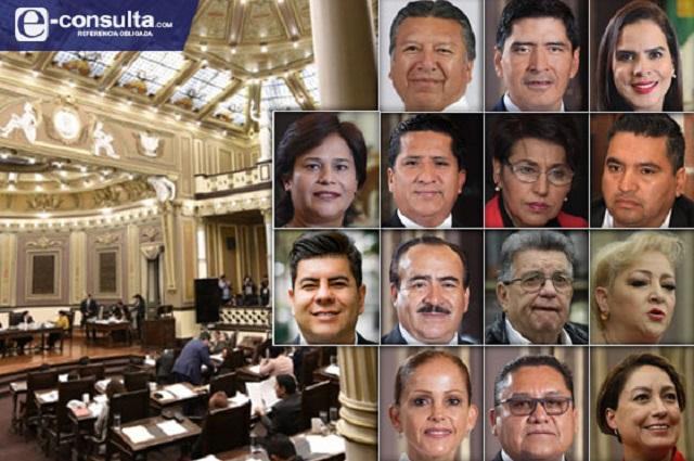 Abandonan 15 legisladores el Congreso para brincar a otro cargo