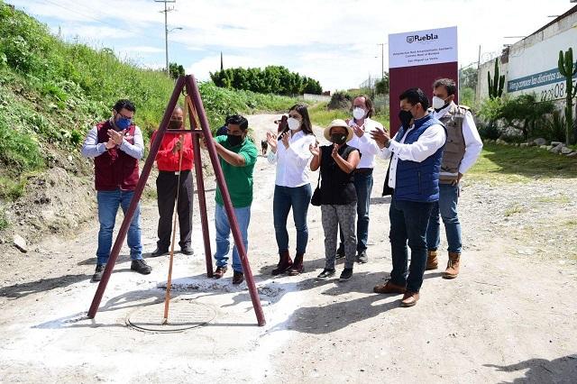 Gobierno de Rivera entrega obras hidrosanitarias y viales