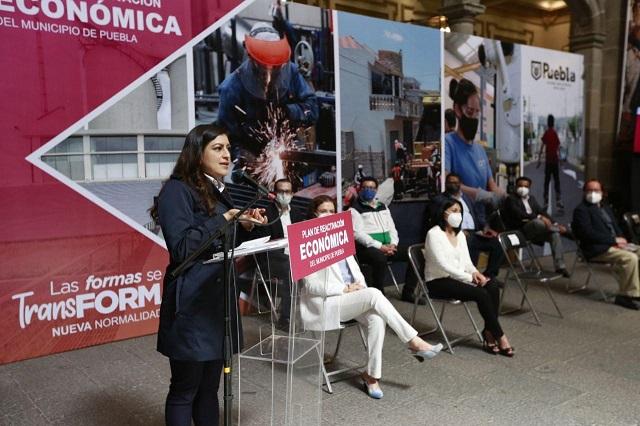 Plan de Reactivación en Puebla capital, con estudio de la UNAM