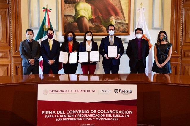 Agilizan regularización de predios ejidales sin intermediarios en Puebla