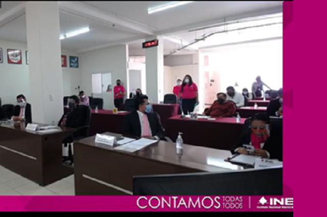 Instalan 15 consejos distritales del INE en Puebla