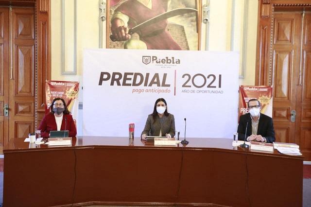 Darán descuento de 10% en pago anticipado de predial en Puebla capital