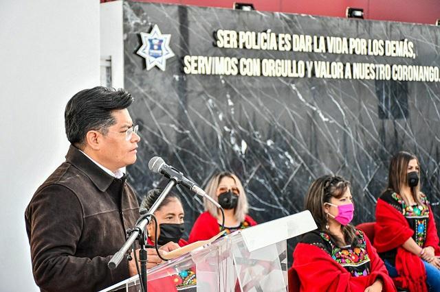 Edil de Coronango encabeza ceremonia por Inicio de la Guerra de Independencia