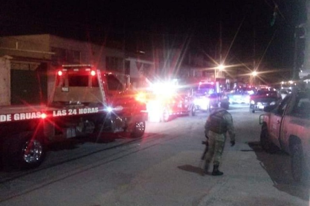 Policía Estatal y Ejército aseguran pipas en Xonacatepec