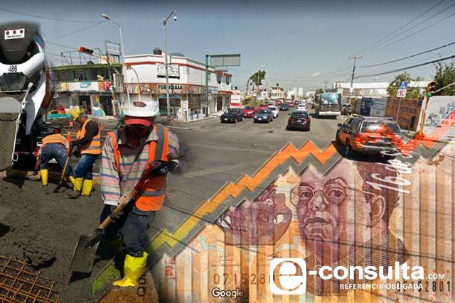 Costará 52.2 mdp rehabilitar 16 de Septiembre y Margaritas