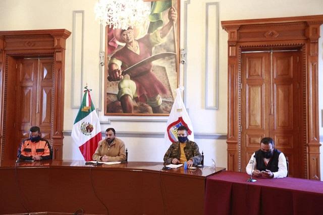 Gobierno capitalino reforzó operativos en noche de Reyes