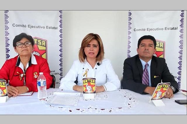 Mantendrán paros en centros de salud de Puebla, anuncian