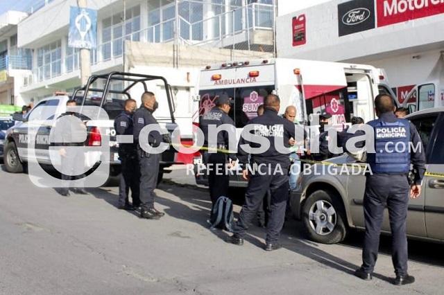Golpean a presunto ladrón en Santa Cruz Buenavista