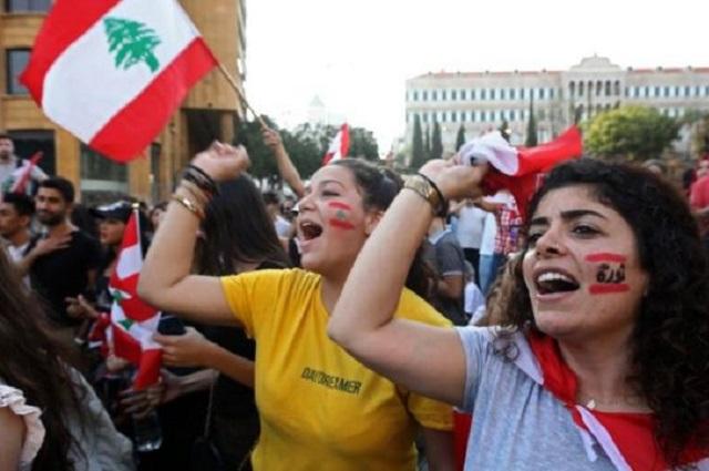 Hieren a 18 durante protestas en Líbano