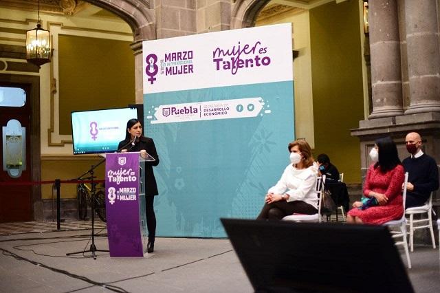 Ayuntamiento de Puebla lanza edición 2 del programa Mujeres Talento
