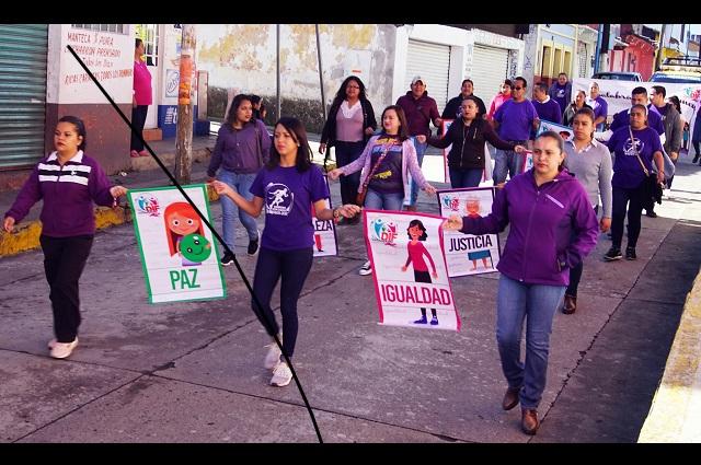 Disminuyen agresiones contra mujeres en Tlatlauquitepec