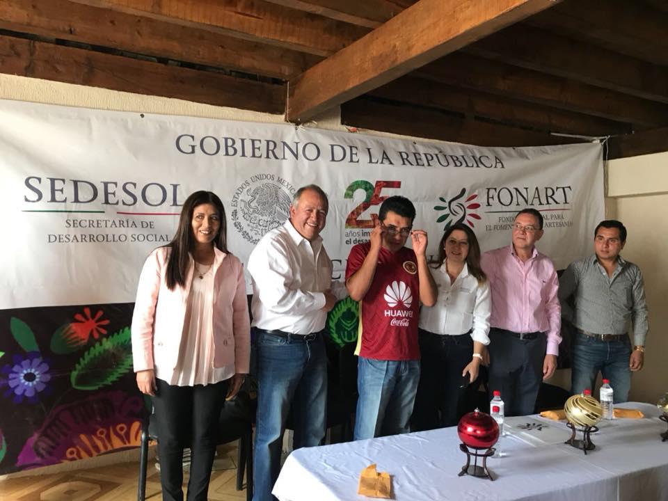 Con 26 mdp durante 6 años, Fonart apoyó a 7 mil artesanos de Puebla