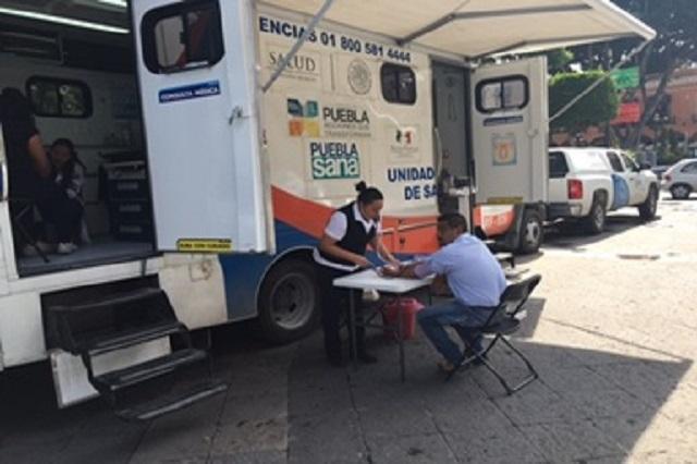 Se realizó en el zócalo de Puebla la Caravana Puebla Segura