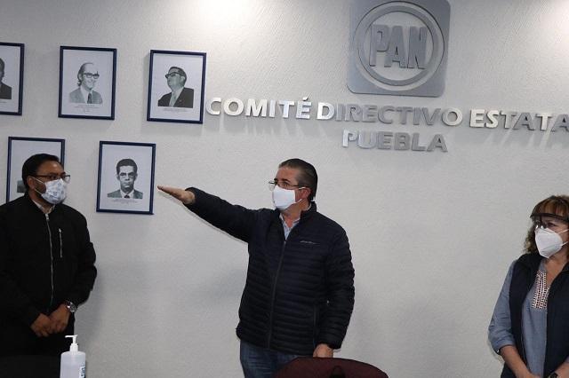 Nombran al diputado Raúl Espinosa como delegado del PAN en Libres