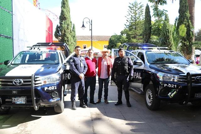 Refuerza Porfirio Loeza estrategia de seguridad en Tlatlauquitepec