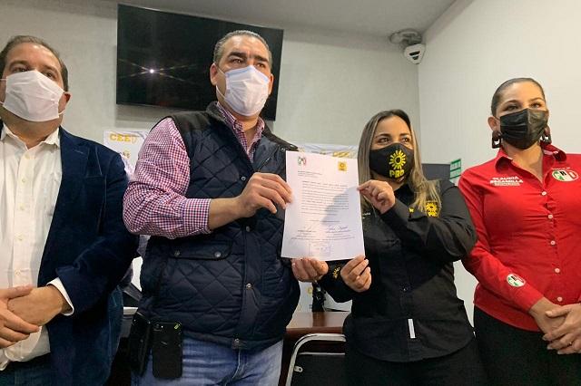 Construyen PRI y PRD alianza por Nuevo León