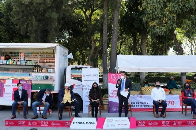 Abre San Pedro Cholula tienda de canasta básica a bajo costo