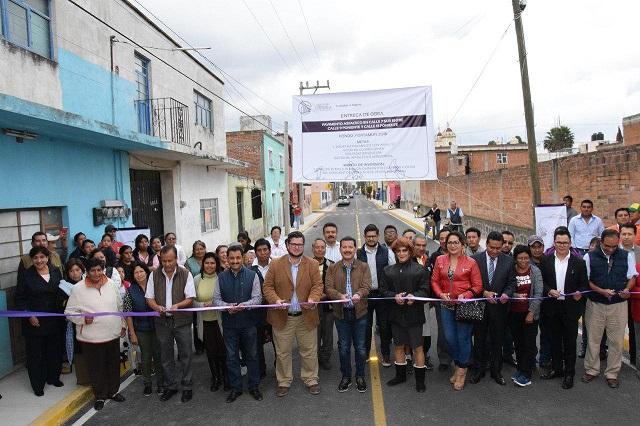 Al entregar obra, Luis Alberto Arriaga reitera que trabaja sin banderas políticas